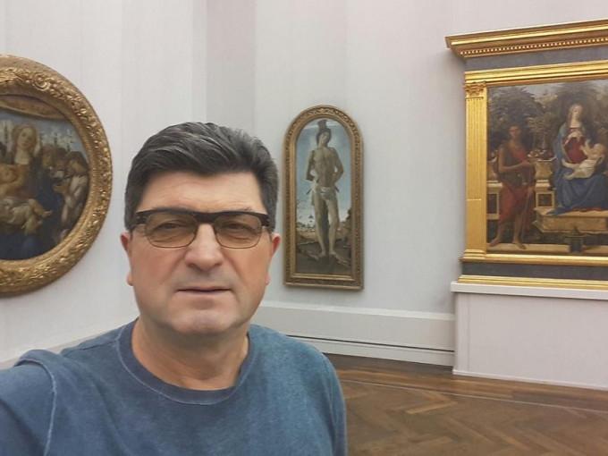 Володимир Павлік у музеї Берлін