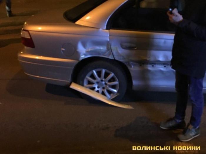 ДТП на перехресті Богдана Хмельницького та Ковельської