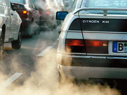 Луцьке повітря забруднене переважно автомобільними та виробничими викидами