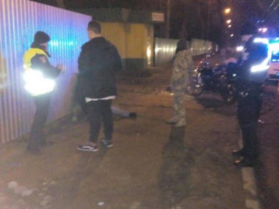 Поліція працює на місці події
