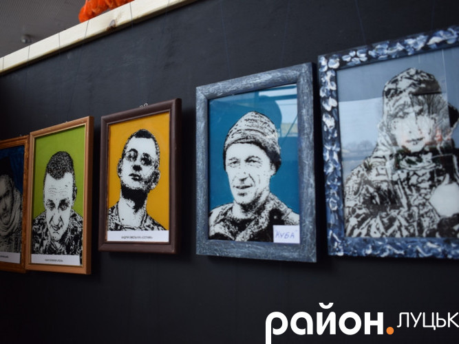 Портрети Руслана Кашаюка із серії «Айдар»