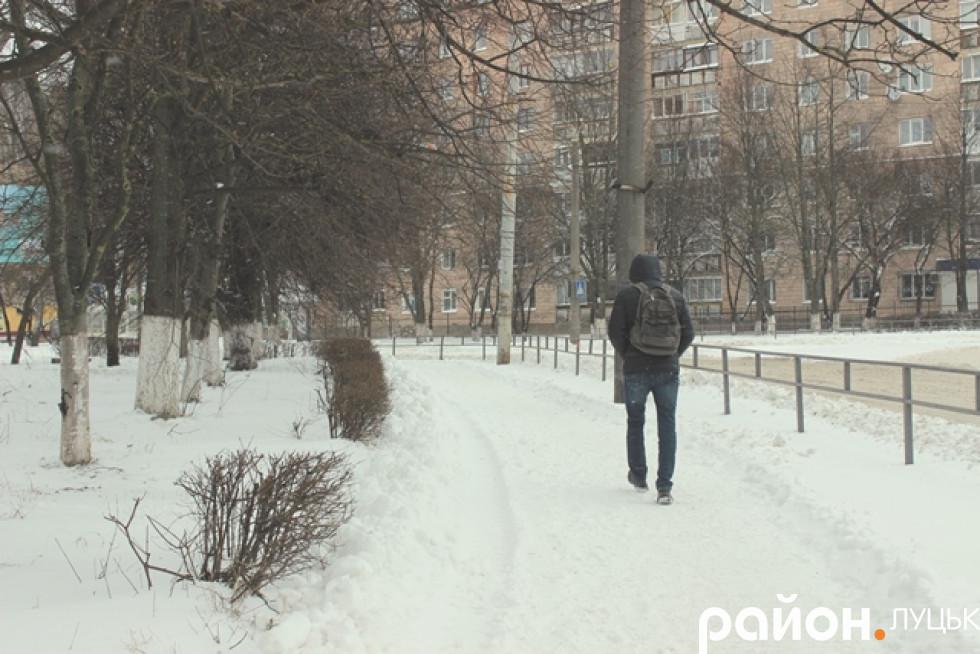 Самотній пішохід