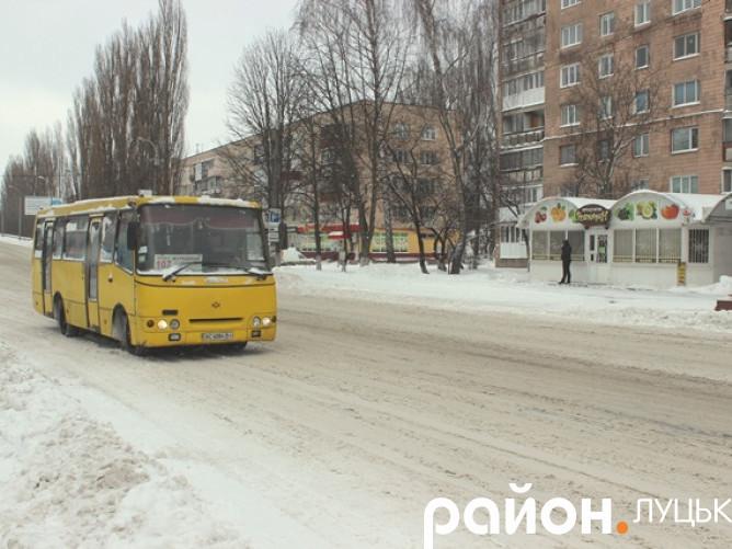 У Луцьку знову зима