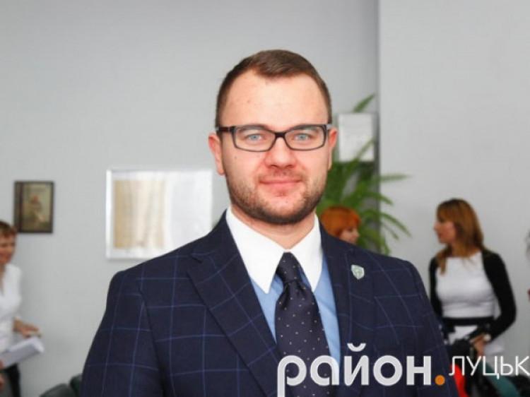 Радник Луцького міського голови Ігор Поліщук