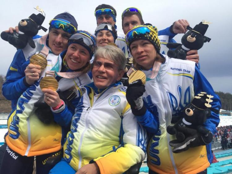 Українські спортсмени на паралімпіаді