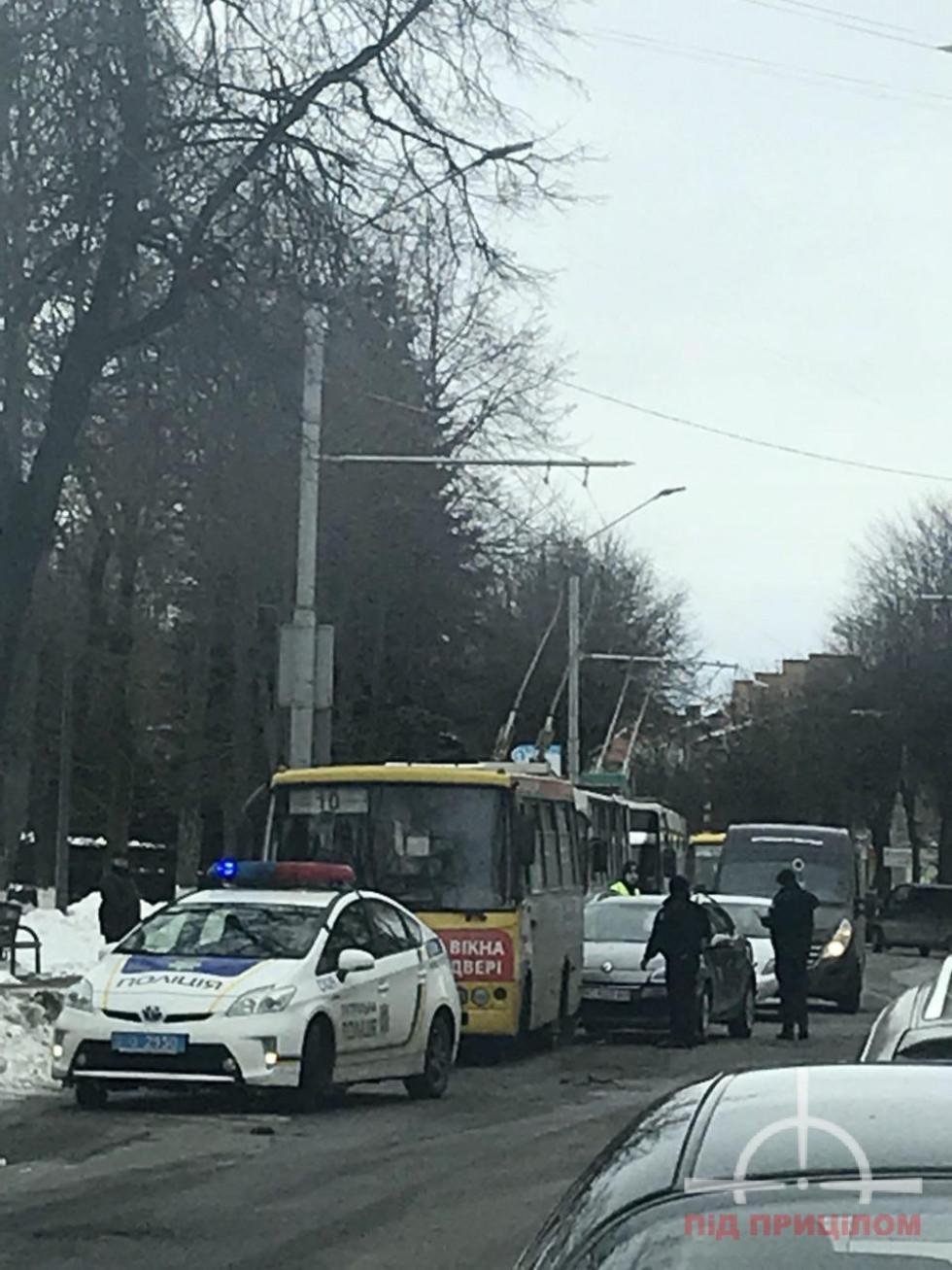 Аварія трапилася неподалік ТЦ «Гранд Волинь»