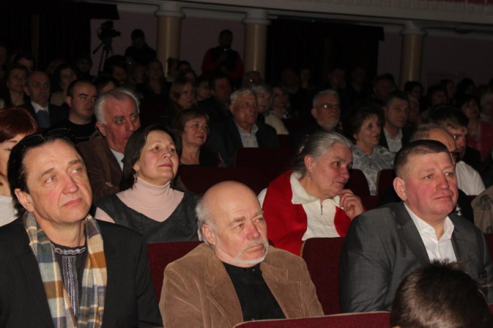 На концерт зібралося багато лучан