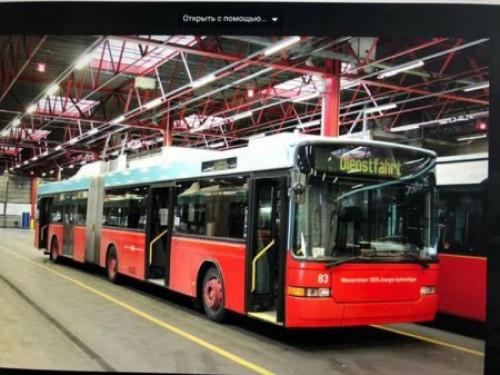 У Луцьку збираються закупити швейарські тролейбуси