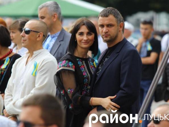 Юлія і Дмитро Вусенки