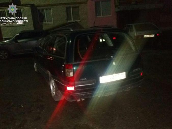 Власники покинули авто на «бляхах»