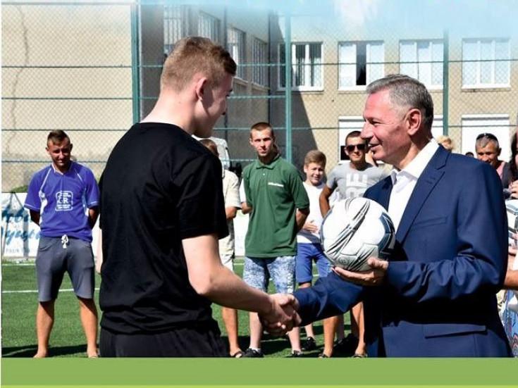 Чемпіонат Луцька з дворового футболу, присвячений пам'яті Миколи Романюка