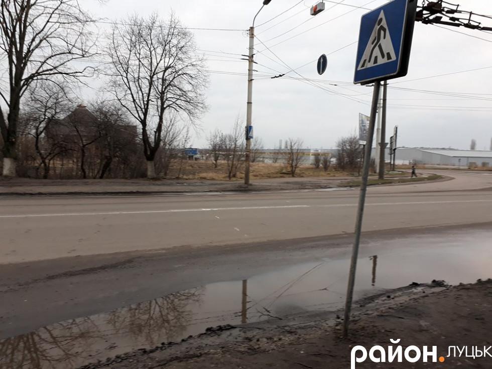 Знак пішохідного переходу
