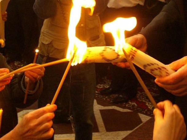 У Луцьк привезуть Благодатний Вогонь