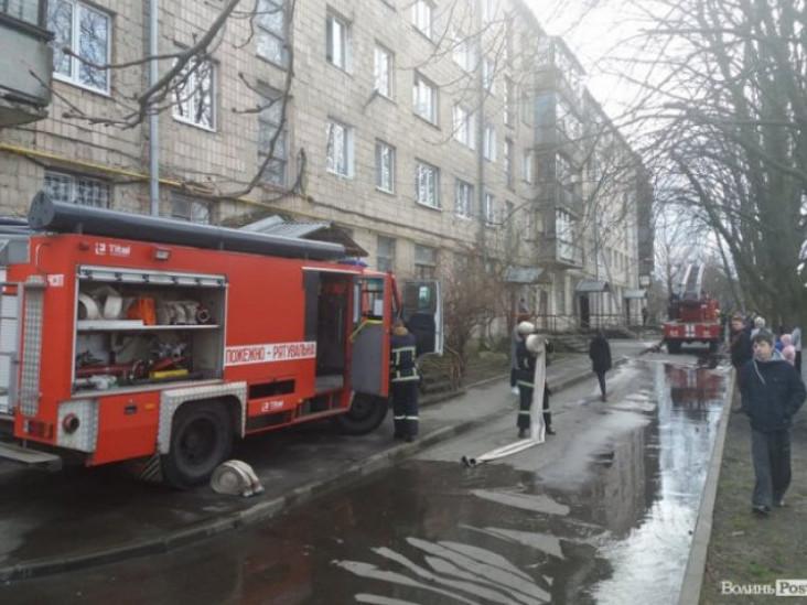 Повторно загорілась квартира на Янки Купала