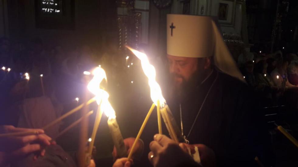 У Луцьк привезли Благодатний вогонь