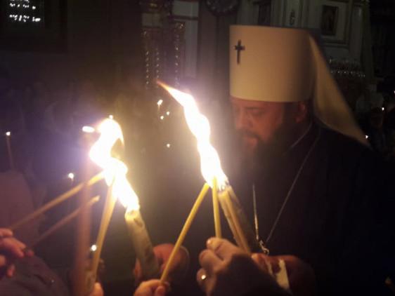 Благодатний вогонь вже в Луцьку