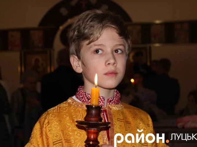 Великдень у Луцьку