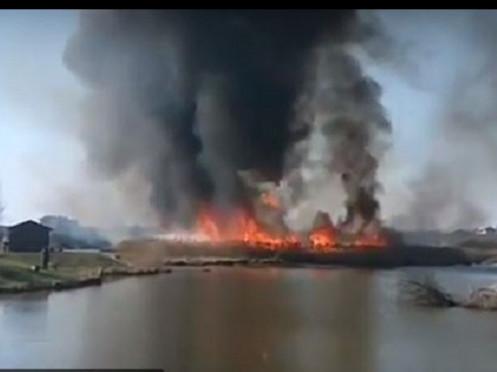 Пожежа в Боголюбах