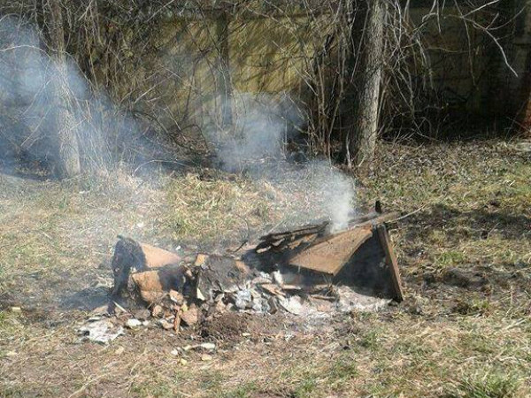 Муніципали «вполювали» десятьох лучан, які палили сміття