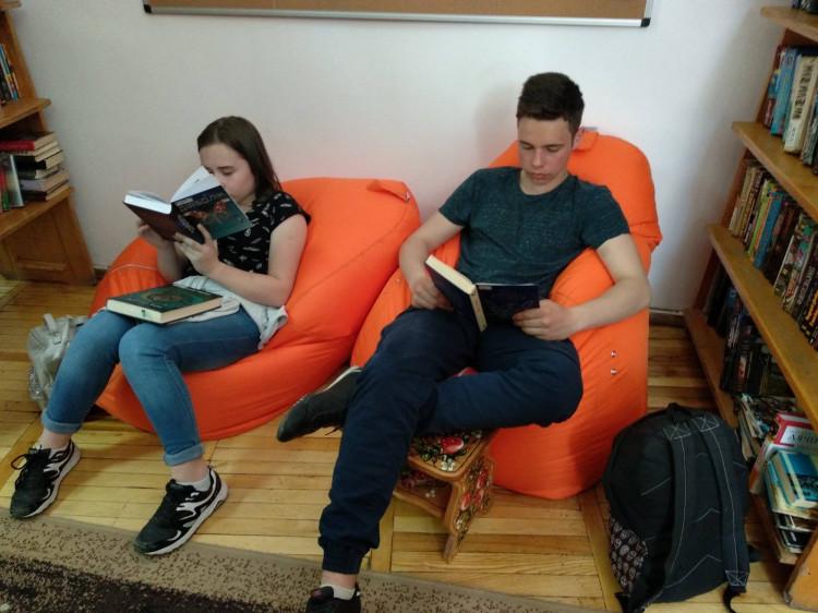 Креативна зона для читання