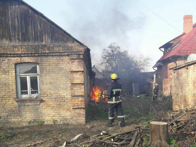 Пожежники боролися з вогнем