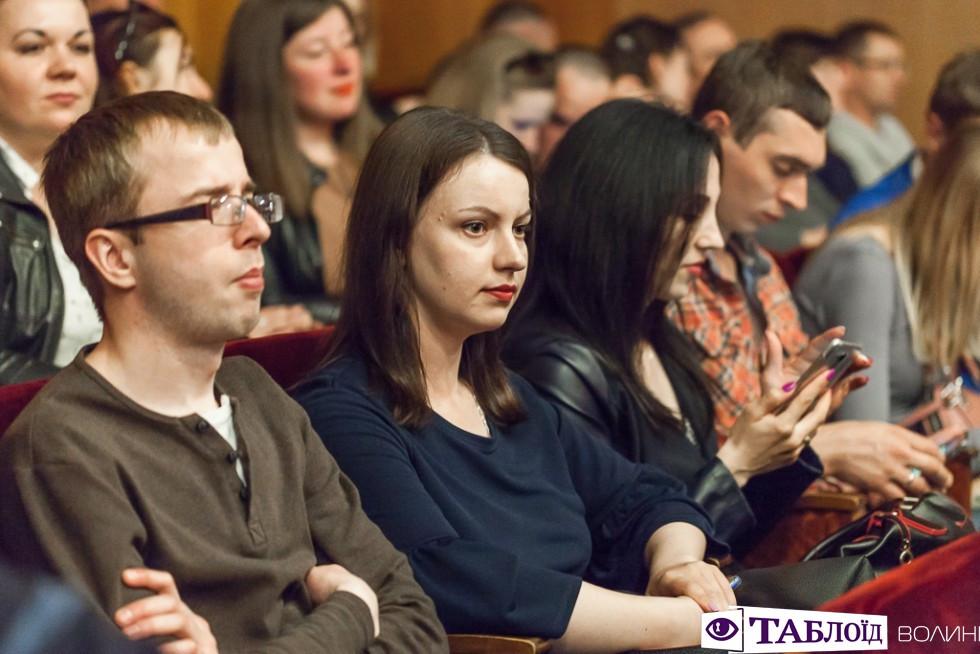 Глядачі у залі