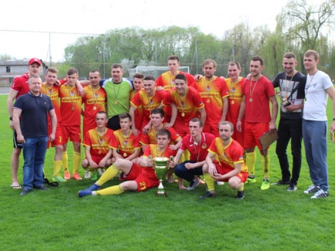 Команда «Ковель-Волинь» - переможці Кубка Федерації-2018