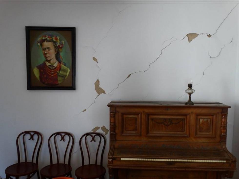 Будинку Косачів у Луцьку загрожує небезпека