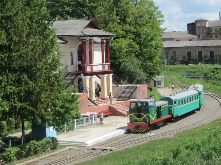 Дитяча залізниця в Луцьку