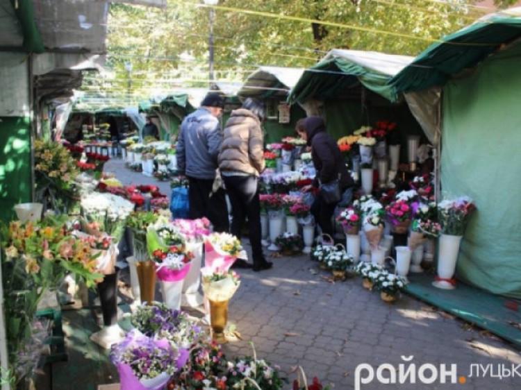 У Луцьку знесуть квітковий ринок