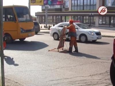 Через ремонтні роботи на вулиці Ковельській утворилисьзатори