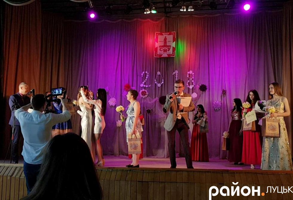 Анастасія Подзізей - Міс ФФЖ 2018 року