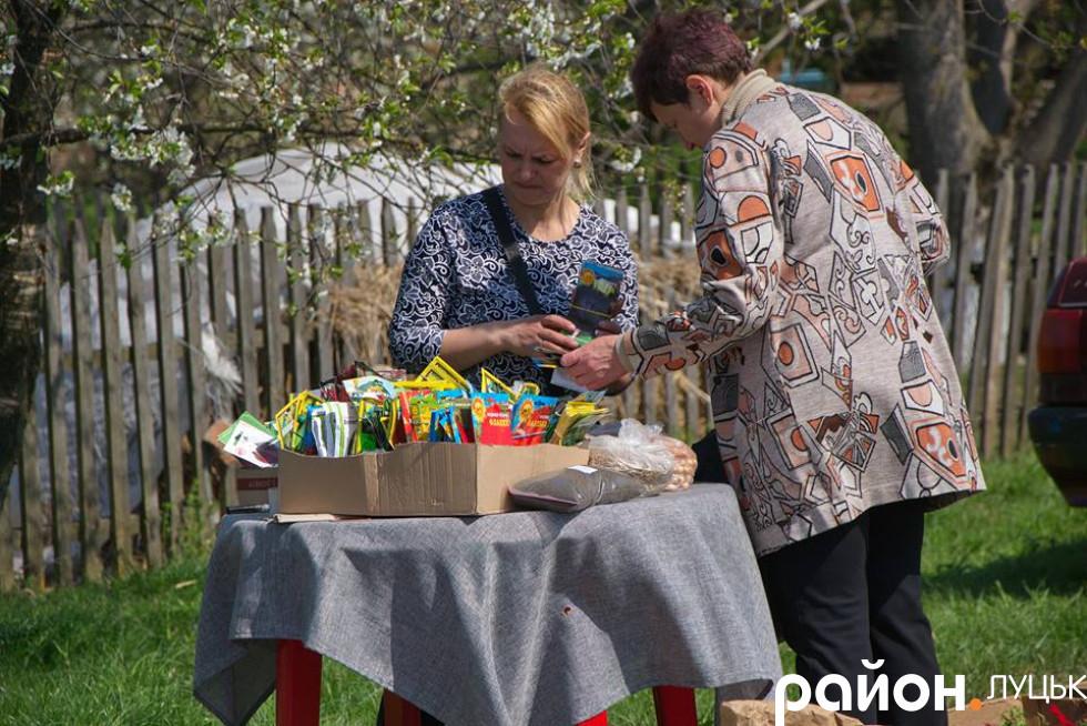 Жителі Чарукова торгували найрізноманітнішим крамом