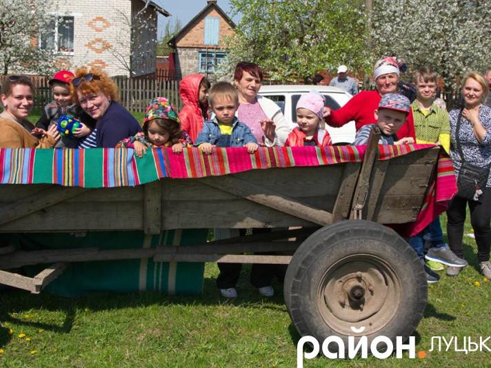 Ярмаркування в селі Чаруків