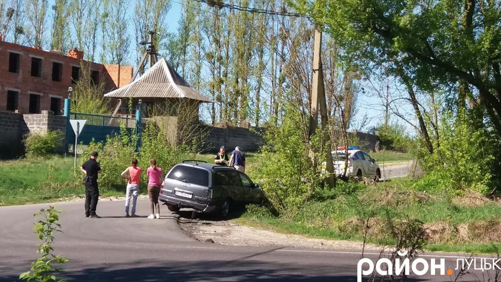 Машина втаранилась у задню частинуавтівки марки«Opel»