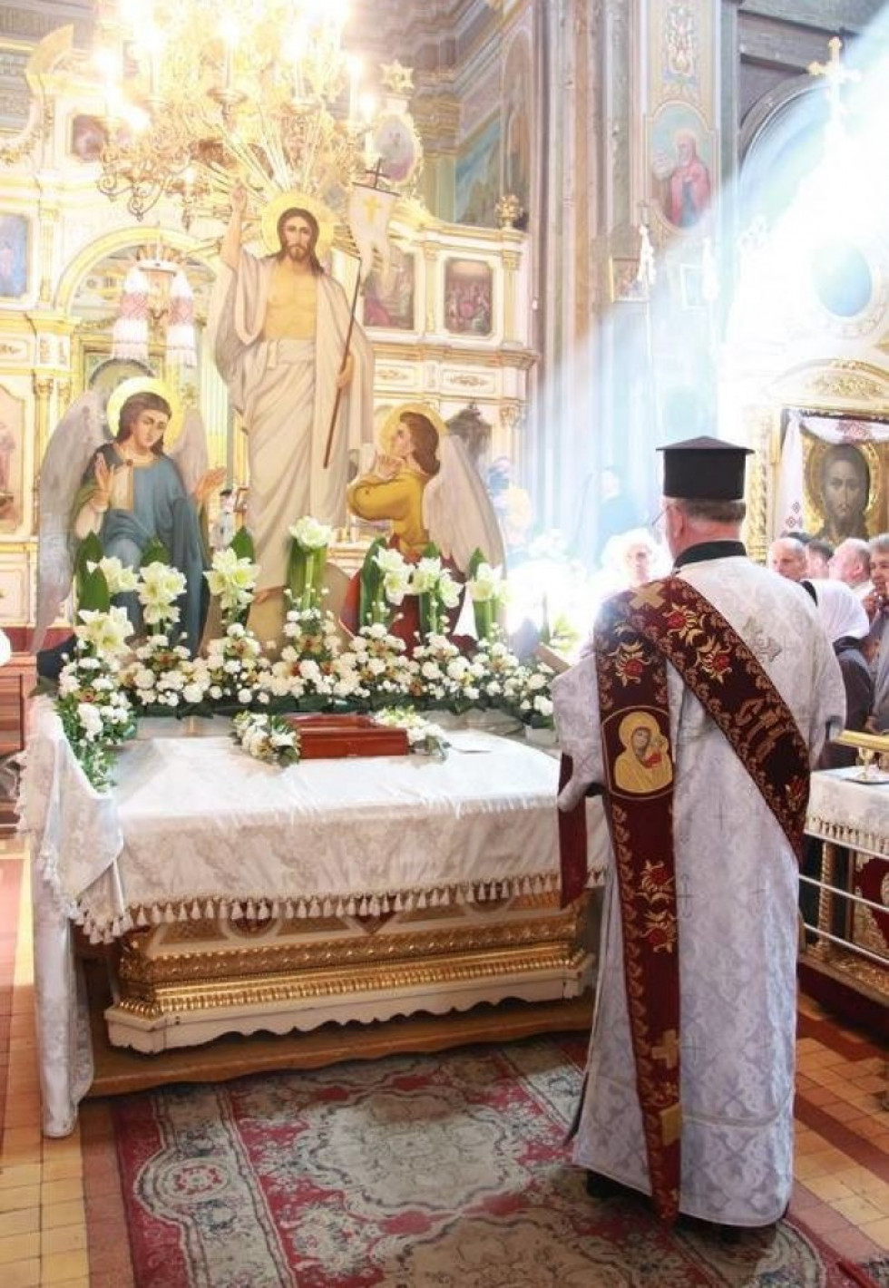 Богослужіння провівмитрополит Луцький і Волинський Михаїл