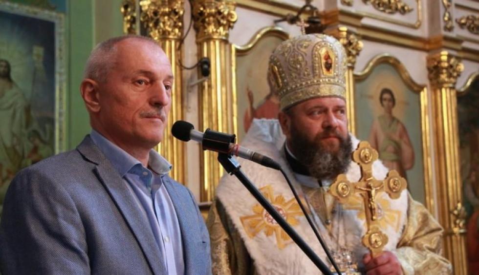Олександр Савченко разом із Митрополитом