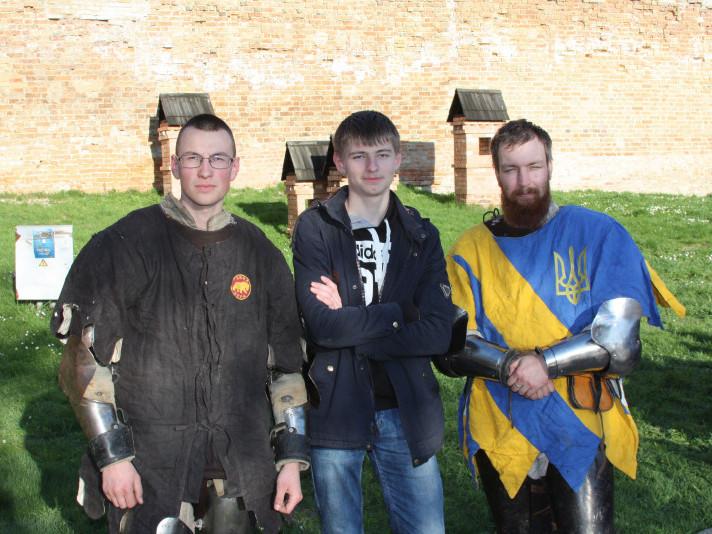 Зустріч Студентів-істориків з волинськими лицарями