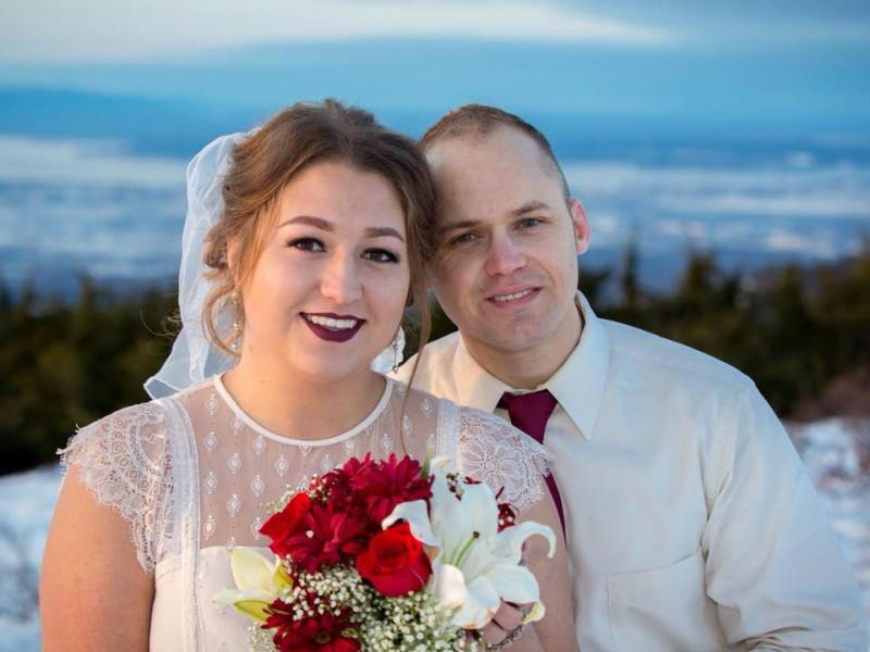 Анастасія Бoен з чоловіком