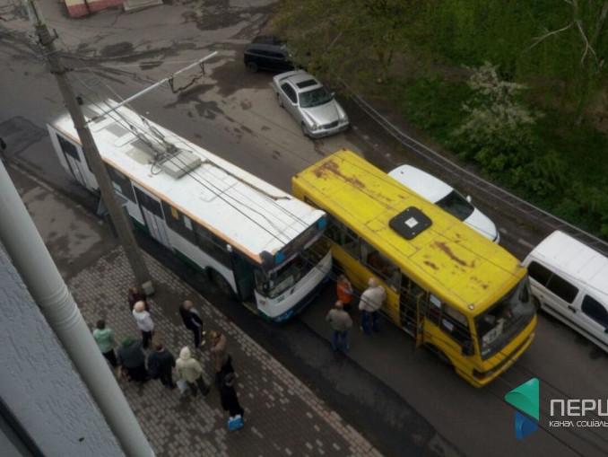 ДТП на Хмельницького