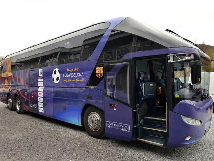 Автобус фанів «Барселони»