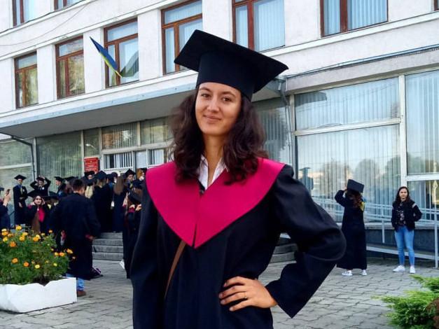 Студентка-документознавець Алла Харабара