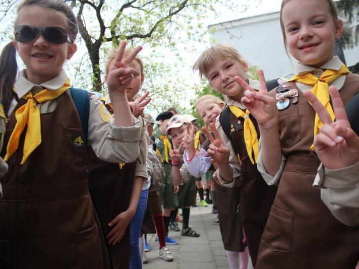 Луцькі пластуни відсвяткували День народження організації
