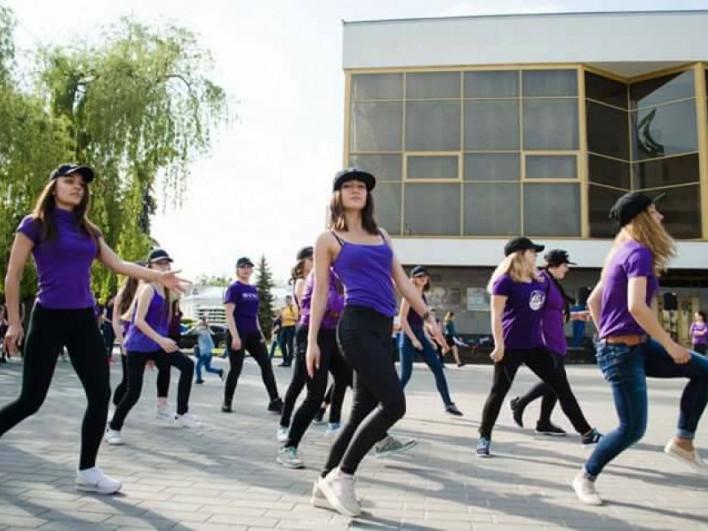 Лучани танцювали в центрі міста