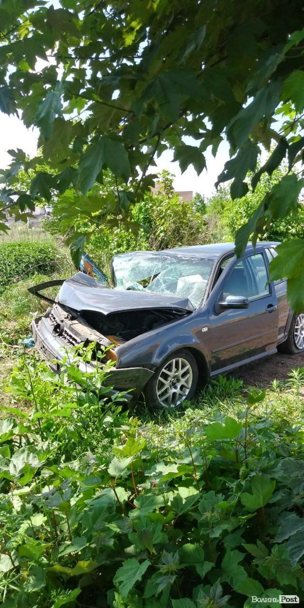 Пошкоджений Volkswagen
