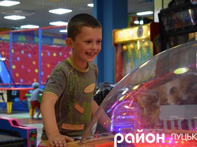 Діти АТОвців у Луцьку