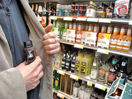 Крадіжка алкоголю