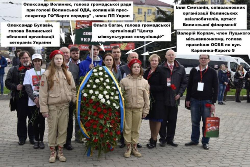 Українська делегація на форумі