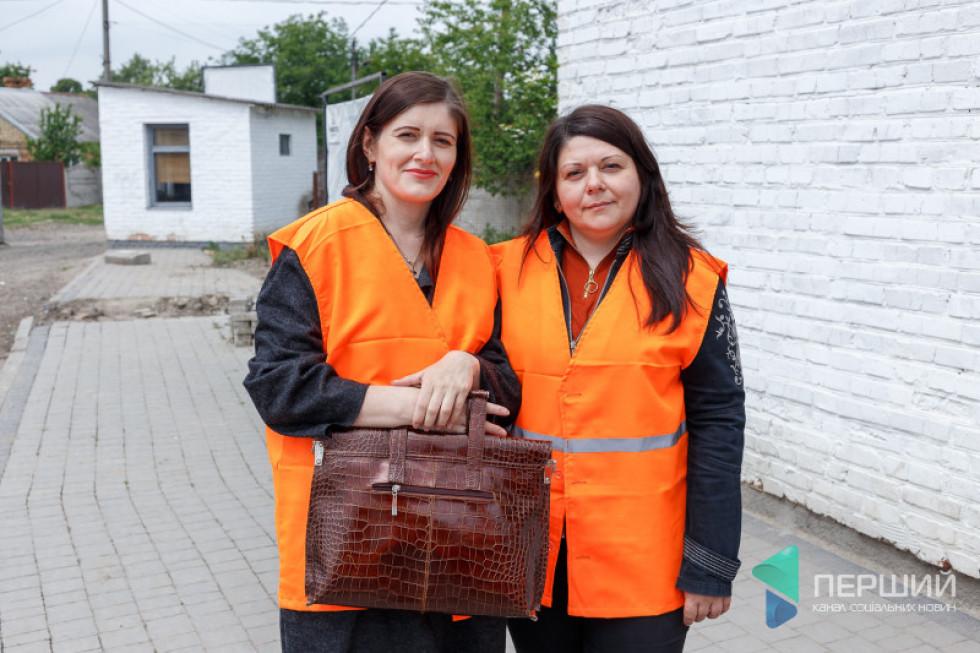 Викладачки Оксана Дзюбинська та Марія Смаль