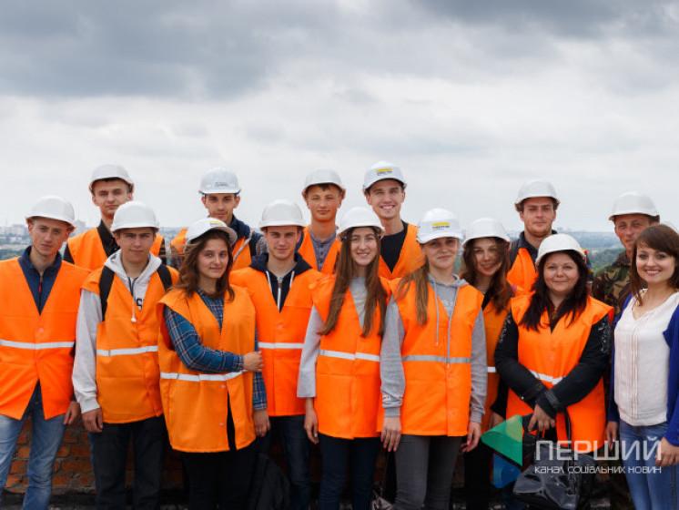 Студентивідвідали екскурсію ЖК«Супернова»